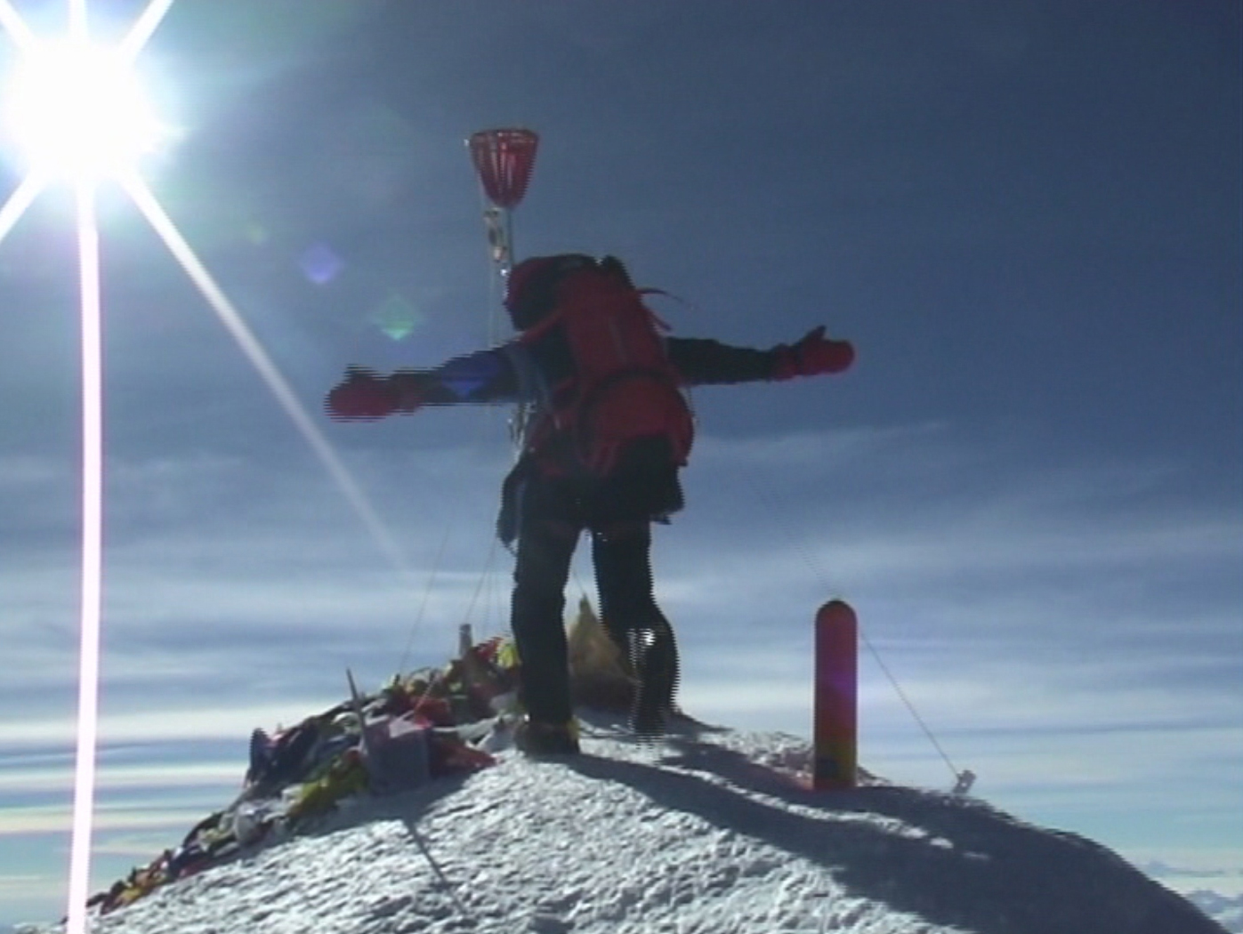 Петька Кузнецов забегает на Эверест